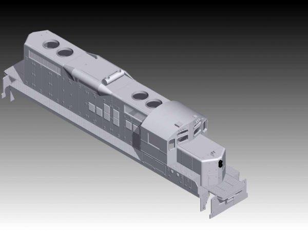 GP9RM Locomotive