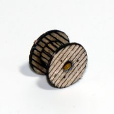 WOODEN REEL SET 0.45″/ 11.5MM DIAMETER