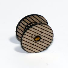 WOODEN REEL SET 0.56″/ 14.35MM DIAMETER