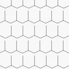 ROOF SHINGLES- HEXAGON