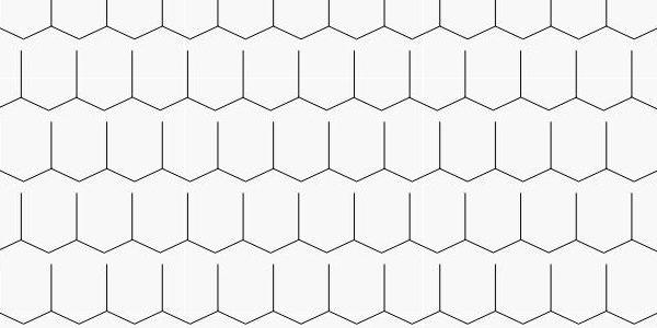 "Shingles- ""hexagon"" type"