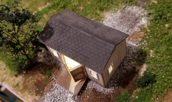 Garden Shed HO Scale buildings