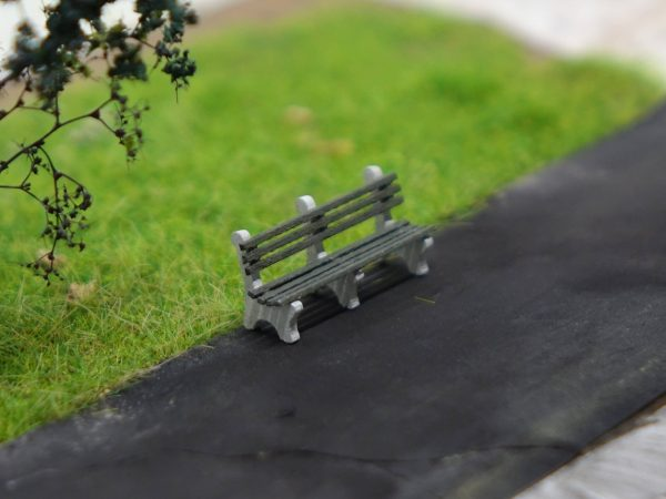 HO Scale Bench
