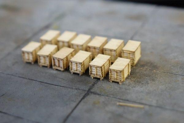 HO Sale Crates Set 3