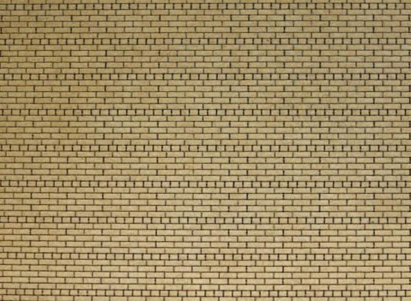 HO Scale Brick Sheet