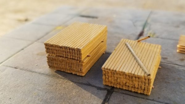 HO Scale Lumber Stack-