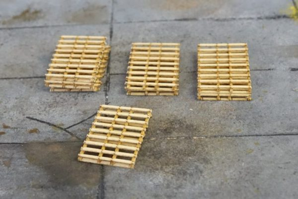 HO Scale Pallets 72 x 48