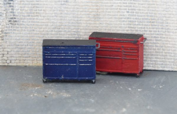 HO Scale Tool Chest Large