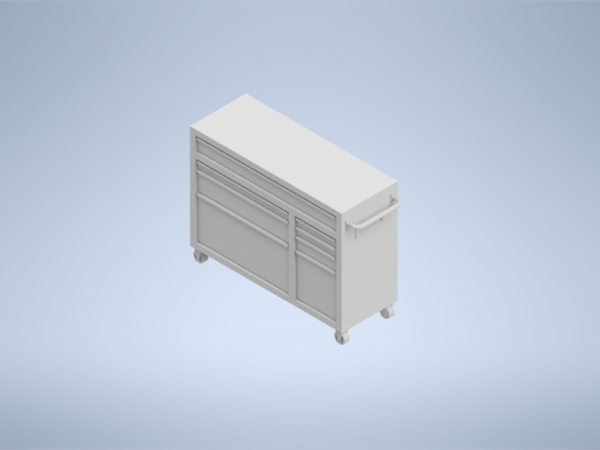 HO Scale Tool Cabinet Large
