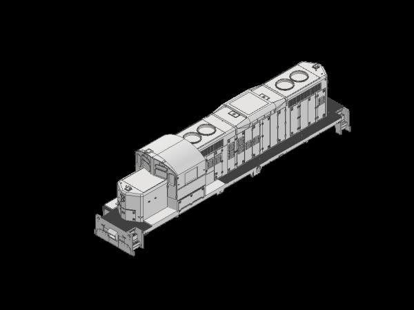 HO Scale GP9rm